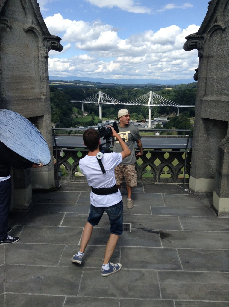 M-Dot Video Shoot in Fribourg, Switzerland (2014)