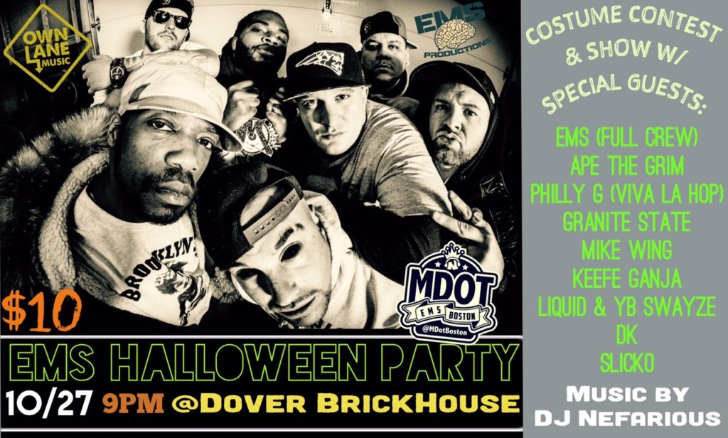 m-dot-ems-halloween-party-2017-dover-nh-back-in-the-day-buffet